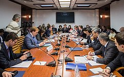 ВСовете Федерации обсудили практику предоставления госуслуг врежиме «одного окна»