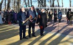 В. Бекетов принял участие воткрытии памятника труженикам тыла вУспенском районе Краснодарского края