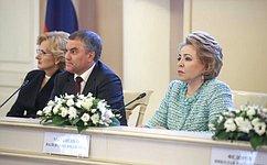 ВСанкт-Петербурге состоялось заседание Президиума Совета законодателей Российской Федерации