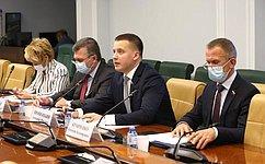 А. Пронюшкин провел «круглый стол», посвященный поддержке воздушных перевозок иобеспечению их доступности для населения
