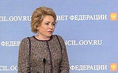 В.Матвиенко: Необходимо распространить институт общественного наблюдения нарегиональные выборы