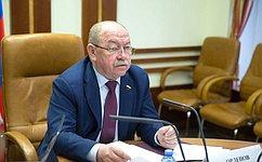 Г. Орденов провел совещание «Опроведении эксперимента поквотированию выбросов загрязняющих веществ»