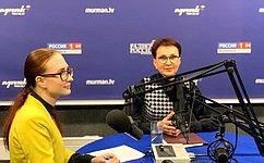 Т. Кусайко: Старейшую наКольском полуострове радиостанцию слушают илюбят все северяне