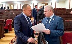 С. Мартынов принял участие вбюджетной сессии парламента Республики Марий Эл