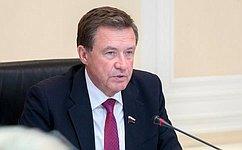 Комитет СФ побюджету ифинансовым рынкам рассмотрел закон овведении курортного сбора