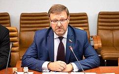 ВСовете Федерации рассчитывают наактивное участие представителей Эфиопии вработе саммита Россия-Африка— К.Косачев