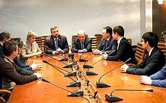 Студенты изТамбовской области вСовете Федерации