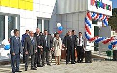 В. Полетаев принял участие воткрытии детской больницы вГорно-Алтайске