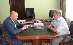 А. Тулохонов входе поездки вБурятию обсудил вопросы образования, природоохранного законодательства, рыболовства