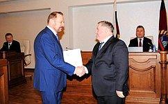 С. Белоусов: Роль региональных парламентов постоянно возрастает