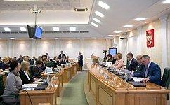 В.Матвиенко провела заседание Организационного комитета III Международного Ливадийского форума