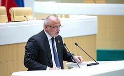 А. Клишас: Вопросы реализации прав исвобод граждан находятся вцентре внимания Совета Федерации