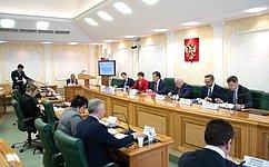 Вопросы финансирования дорожной деятельности регионов рассмотрели вСовете Федерации