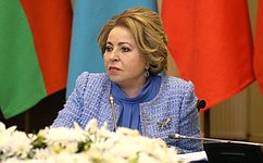ВТаврическом дворце состоялось заседание Совета Межпарламентской Ассамблеи СНГ