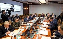ВКомитете СФ пообороне ибезопасности изучили проблематику архивного дела вроссийских Вооруженных силах