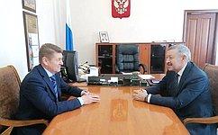 А. Шевченко: Личные приемы позволяют нам держать вфокусе внимания проблемы граждан