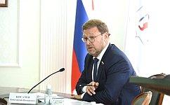 К.Косачев совершил рабочую поездку вРеспублику Марий Эл