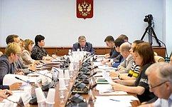 В.Рязанский: Врегионах разрабатываются дополнительные меры пообеспечению инвалидов техническими средствами реабилитации