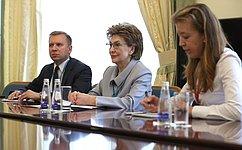 Г. Карелова: Россия иЮНИСЕФ могут увеличить общий вклад врешение задачи сохранения здоровья
