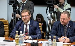 Konstantin Kosachev: Russia and Venezuela are coordinating positions on regional cooperation
