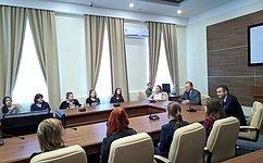 С. Леонов: Молодежные инициативы— новаторский фактор развития нашего государства