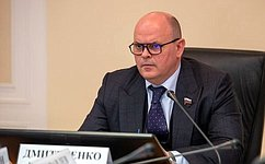 А. Дмитриенко: Совет Федерации проводит масштабную работу пореализации национальных проектов