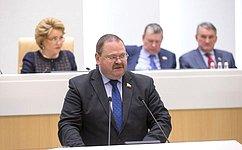 О. Мельниченко: Основная цель деятельности нашего Комитета СФ– результат