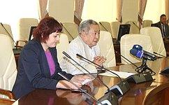 А.Тулохонов рассказал оработе сенаторов поподдержке социально-экономического развития Республики Бурятия