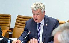 Назаседании Комитета СФ пообороне ибезопасности обсудили пять проектов федеральных законов иряд организационных вопросов