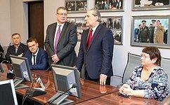 А. Александров посетил научно-производственное объединение РАДАР