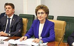 Г. Карелова провела заседание Совета повопросам жилищного строительства исодействия развитию ЖКХ при СФ