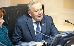 В.Шуба принял участие взаседании Совета Законодательного Собрания Иркутской области повзаимодействию спредставительными органами муниципальных образований