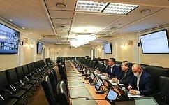 ВСовете Федерации обсудили вопросы реализации сквозных проектов электронной промышленности
