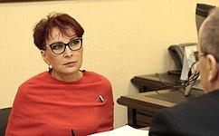 Мурманские региональные власти заинтересованы вреализации потенциала молодежи— Т.Кусайко