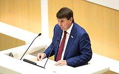 С. Цеков прокомментировал одобренный Советом Федерации закон, касающийся развития Республики Крым игорода Севастополя