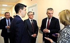 И. Каграманян посетил обновленное офтальмологическое отделение Центральной городской больницы Ярославля