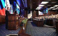 В. Матвиенко приняла участие врасширенном заседании Коллегии Министерства обороны России