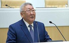 Е. Борисов: При решении проблем развития АПК необходимо учитывать экологическое равновесие природы региона