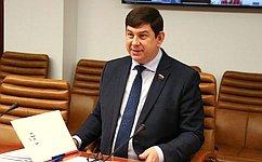 В. Смирнов: Комитет СФ понауке, образованию икультуре продолжит контроль засовершенствованием материально-технической базы школ