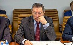 Поздравление члена Совета Федерации Федерального Собрания Российской Федерации О. Королева сДнем Защитника Отечества