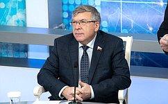 Комитет СФ посоциальной политике продолжает мониторить ситуацию поборьбе соснюсами врегионах— В.Рязанский