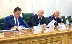 Д. Мезенцев провел парламентские слушания ореконструкции инфраструктуры региональных аэропортов ирасширения сети межрегиональных пассажирских авиаперевозок