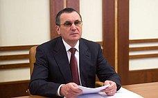 Н. Федоров: Рабочая группа Совета Федерации подготовила более 160 предложений посовершенствованию законодательства всвязи сраспространением коронавируса