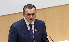 Н.Федоров представил отчет освоей работе в2019году вкачестве полномочного представителя Совета Федерации вГосударственной Думе