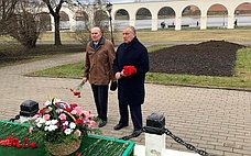 С. Митин принял участие вмероприятиях, посвященных 76-й годовщине освобождения Великого Новгорода отнемецко-фашистских захватчиков