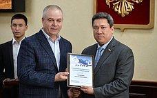 В.Полетаев наградил победителей фотоконкурса «Природа Горного Алтая»
