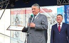 Ю. Воробьев поздравил вологжан сДнем города