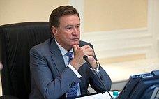 С.Рябухин принял участие взаседании Законодательного Собрания Ульяновской области