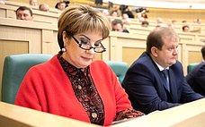 Е. Грешнякова вошла всостав Временной комиссии СФ повопросам законодательного обеспечения развития технико-технологической базы АПК