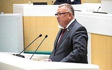 Профильный Комитет СФ уделяет особое внимание развитию системы агрострахования сгосударственной поддержкой– В.Николаев
